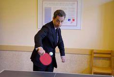 Sarkozy Ping Pong
