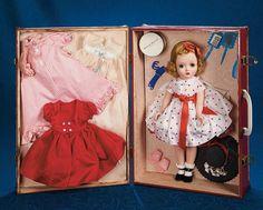 Fabulous 50s and Beyond - Modern Dolls: 303 Blonde Binnie Walker in Trunk with Trousseau