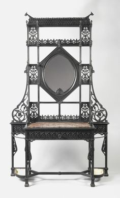 Hall Stand, ca. 1875, Christopher Dresser