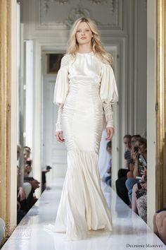 delphine manivet spring 2013 reitz long sleeve 1920s wedding dress