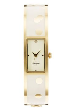 @kate spade new york carousel bangle watch... this is just too good!!!
