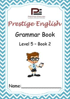 English Grammar Book  Level 5  Book 2This is the 14th book in the 15 book series of the Prestige English Grammar Series.Recommended for advanced beginners and students who already have a good grasp of English grammar.Please also download the 18 page FREE SAMPLE file of this booklet to preview its content and assess it suitability to your students level.Book Content:1.