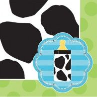 A new baby boy is on his way! Celebrate with the mum-to-be with a cute Baby Cow Print theme. These cow print Beverage Napkins coordinate with the playful colours & design of the Baby Cow Print theme. Baby Shower Party Supplies, Boy Baby Shower Themes, Baby Shower Parties, Baby Boy Shower, Baby Showers, Cute Baby Cow, Baby Cows, Baby Daddy Shirt, Baby Alive Food