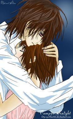 Kaname and Yuki from Vampire Knight.