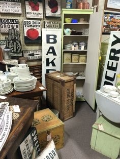 At Jesse James Antique Mall, St Joseph, MO. Open everyday, 9-6!