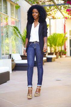 Style Pantry - http://stylepantry.com/2013/04/19/boyfriend-blazer-button-up-shirt-dark-wash-skinnies/