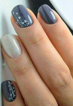 Nail Art Ideas 53 Outstanding Bridal Nails Art Designs Ideas 2018 2019 A Wedding Cute Nail Art Designs, Blue Nail Designs, Nail Designs Spring, Simple Nail Designs, Toenail Designs Fall, Neutral Nail Designs, Fingernail Designs, Bridal Nail Art, Wedding Nails Design