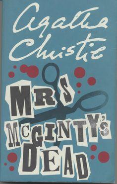 Agatha Christie, Mrs McGinty's Dead (1951), Hercule Poirot Book 28, agatha…