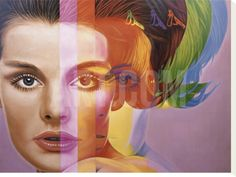 Spectrum Stretched Canvas Print by Richard Phillips at Art.co.uk