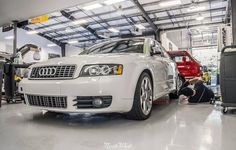 Thursday continues with this Audi S4 receiving our Premier Package detail!