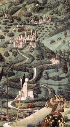 BENOZZO GOZZOLI (1421 - 1497) - Palazzo Medici-Riccardi, Florence
