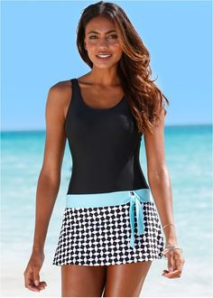 Shop Tie Side Swim Dress in Star Light online or call a swimwear expert: Discover comfortable figure flattering and sexy one-piece swimwear at affordable prices today. Bathing Suit Dress, Swim Dress, Plus Size Swimwear, One Piece Swimwear, Bikini Mode, Monokini Swimsuits, Elegante Designs, Holiday Outfits, Holiday Clothes