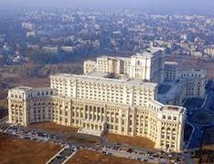 Bucharest city view Romania Facts, Romania Tours, Capital Of Romania, Palace Of The Parliament, Costa, Cities, Destinations, Classic Building, Famous Buildings