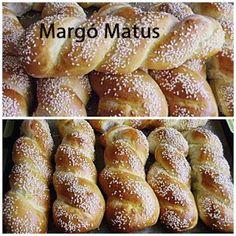 AranyTepsi: Burgonyás uzsonna csavart Ring Cake, Hungarian Recipes, Bread Rolls, Pretzel Bites, Bread Baking, Scones, Cake Recipes, French Toast, Food And Drink