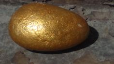 I just laid a golden egg.