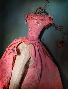 :: Crafty :: Paper :: Paper dress 80 cm By MissClara