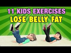 11 Kids Exercises To Lose Belly Fat At Home – Body Workout Physical Activities For Kids, Physical Education Lessons, Yoga For Kids, Exercise For Kids, Kids Workout, Kid Exercise Games, Belly Fat Loss, Lose Belly Fat, Easy Workouts