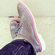 Cole Haan Perf Brogues from the Concept Store in Soho