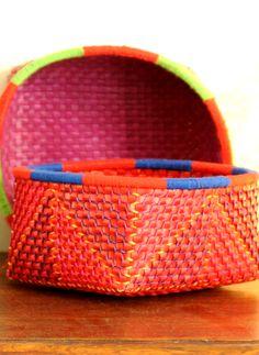 Palm Leaf Woven Basket #TimelessArtisans