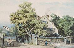 """Im Jahr 1885 verewigte August Seidel die """"Gastwirtschaft zum Ketterl an der Isar"""". Im Stadtadressbuch aus dem Jahr 1933 ist eine gleichnamige Wirtschaft in der Obermaierstraße 2, ganz in der Nähe des Isartors, eingetragen. Foto: Scheublein"""