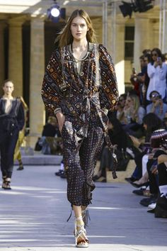 Isabel Marant Ready To Wear Spring Summer 2016 Paris - NOWFASHION