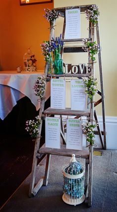Step Ladder Table Plan (Maggie McCall)