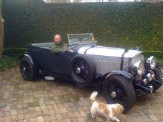 Dads shopping car...