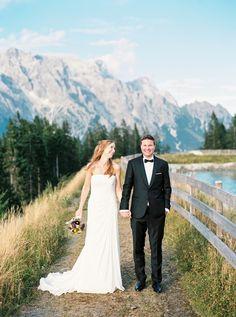 Photography: Birgit Hart - www.birgithart.com Read More: http://www.stylemepretty.com/destination-weddings/2013/12/10/austrian-alps-wedding/