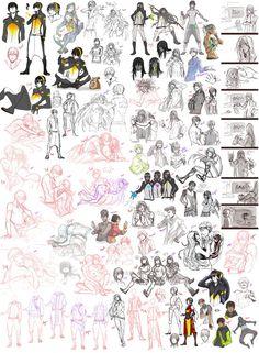Sketch Dump 18 by Namonn