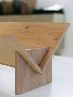 Simple bookcases for that small table top space.