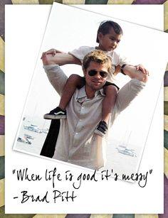 Brad Pitt on Fatherhood
