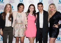 Bree, Taveeta, Jennifer, Trevor and Victoria (❁´◡`❁) Best Tv Shows, Favorite Tv Shows, Briar Nolet, The Next Step, Dancers, Brittany, Peeps, Red Carpet, It Cast