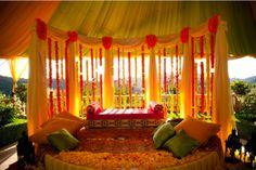 Beautiful #henna #mehendi #tent