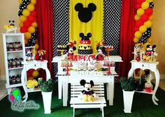 Decoração Mickey  Rede Festas - localizada em Guarulhos  Tel 23589246 ou Whats 981337034