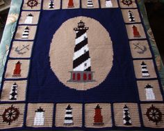 If you crochet and you love lighthouses, then you're at the right place!!