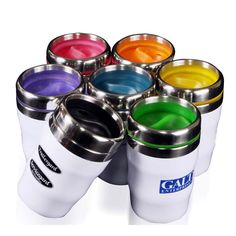 Design-2 Silver The Fanatic Group Mount Union Double Walled Soft Touch Tumbler