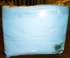 NEW Martex Royal Legacy White Sheet Set Full Size Bed