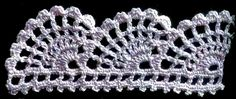 Uncinetto e crochet: Grande raccolta di schemi per bordi all'uncinetto