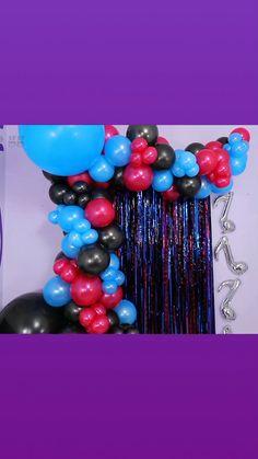 1st Birthday Decorations Boy, Happy Birthday Decor, Boys First Birthday Party Ideas, Diy Party Decorations, Diy Birthday, Birthday Balloons, Tik Tok, Valentines Day Party, House Party