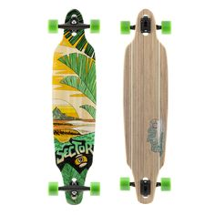 Buy Sector 9 Lookout Complete 41 Inch Bamboo Drop Through Longboard for Carving and Commuting Sector Nine, Roller Sports, Drop Through Longboard, Ski Shop, Longboarding, Skateboard Art, Skateboards, Bamboo, Carving