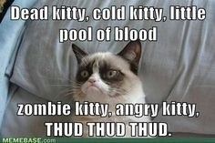 #GrumpyCat #meme For more Grumpy Cat stuff, gifts, quotes and meme visit www.pinterest.com/erikakaisersot