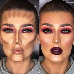 If you still do not know how to contour, then you have come to the right place. Apart from the visuals, we have something to tell you too, check it out! #makeup #makeuptutorial #contourmakeup #contouring