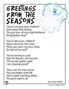 Winter Kids Poems