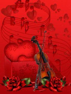 Мелодия сердца - анимация на телефон №1217792