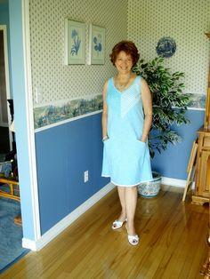 SewPassionista by DIANA: A Sandra Betzina Dress used Vogue 1101.