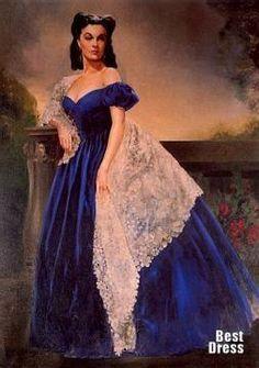 Бархатное платье в стиле скарлет о хара