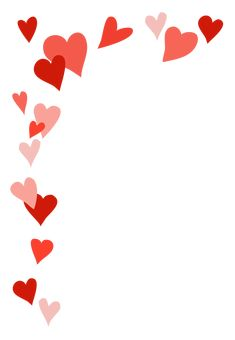 Heart frame for Valentine's Day greeting day wallpaper