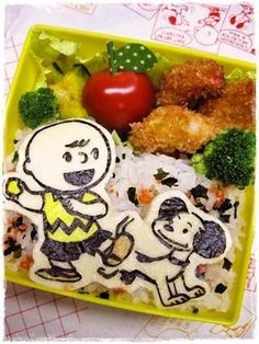 Snoopy & Charlie Brown Bento