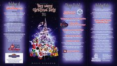 Mickeys Very Merry Christmas Party 2018 Map.25 Best Mickey S Very Merry Christmas Party Images