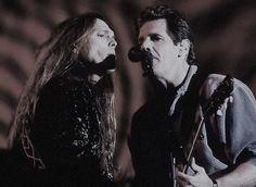 Timothy Schmit & Glenn Frey #eagles